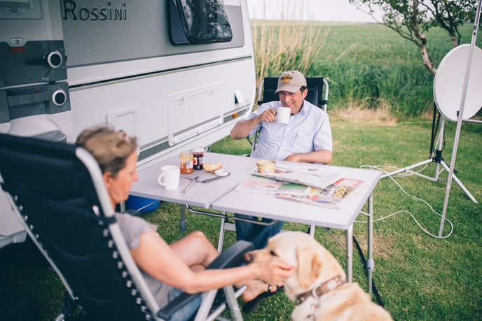 Camping am Deich - Nordsee