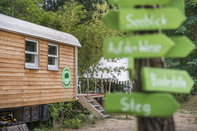Campingplatz am Großen Wentowsee