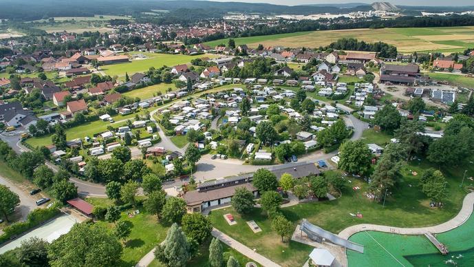 Campingplatz Am Naturerlebnisbad