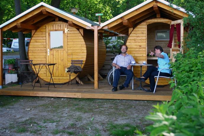 Ihr königlicher Campingpark Sanssouci zu Potsdam/Berlin