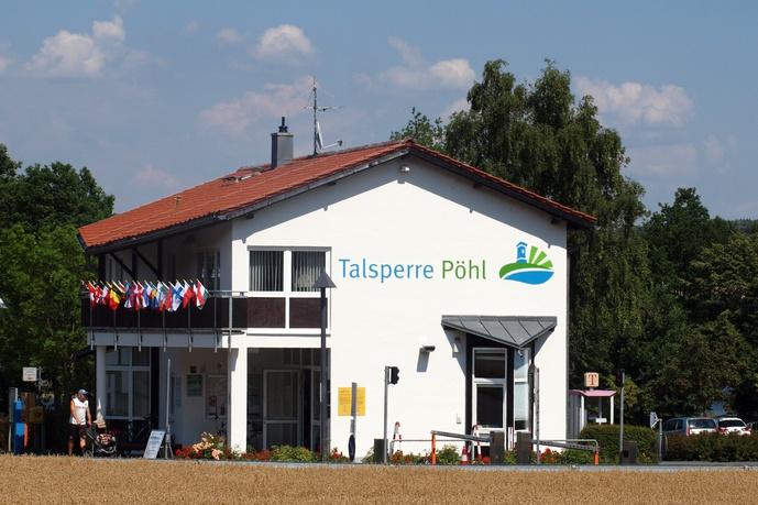 Talsperre Pöhl - Campingplatz Gunzenberg