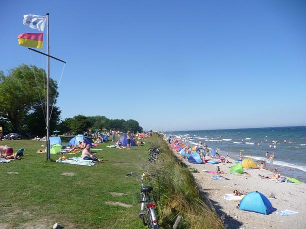 Am Rosenfelder Strand Ostsee Camping
